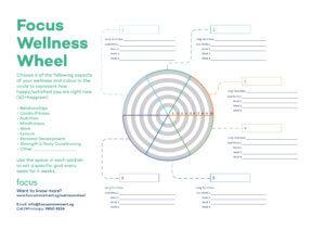 Wellness Wheel Template from focusmovement.sg